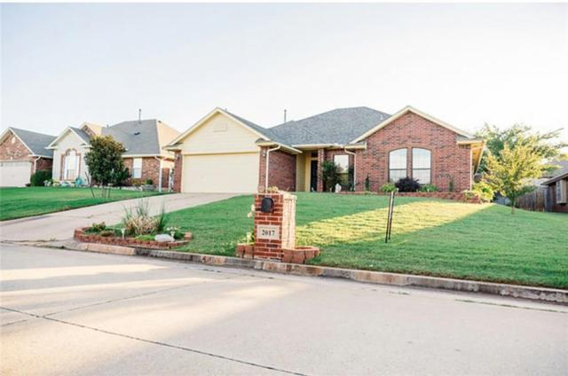 2017 Lakeside Dr., Midwest City, OK 73130 (MLS #778925) :: Richard Jennings Real Estate, LLC