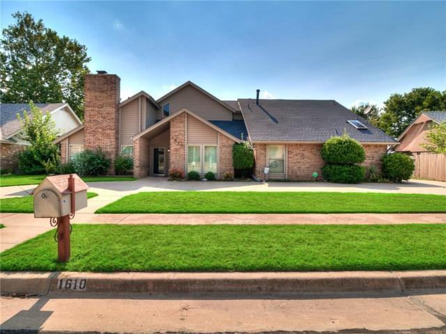 1610 Broad Acres Drive, Norman, OK 73072 (MLS #784883) :: Wyatt Poindexter Group
