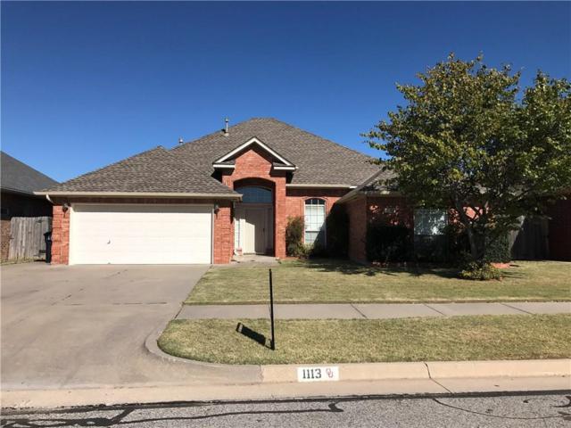 1113 SW 129th Street, Oklahoma City, OK 73170 (MLS #796205) :: Wyatt Poindexter Group
