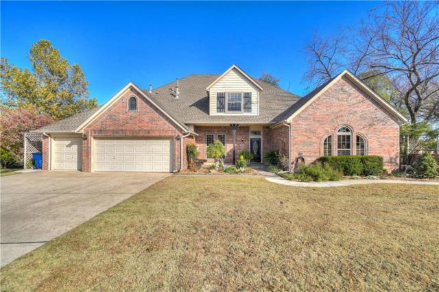 28 Sunset Hills Drive, Choctaw, OK 73020 (MLS #796884) :: Wyatt Poindexter Group