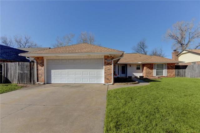 809 N Parkview Circle, Moore, OK 73170 (MLS #799566) :: Wyatt Poindexter Group