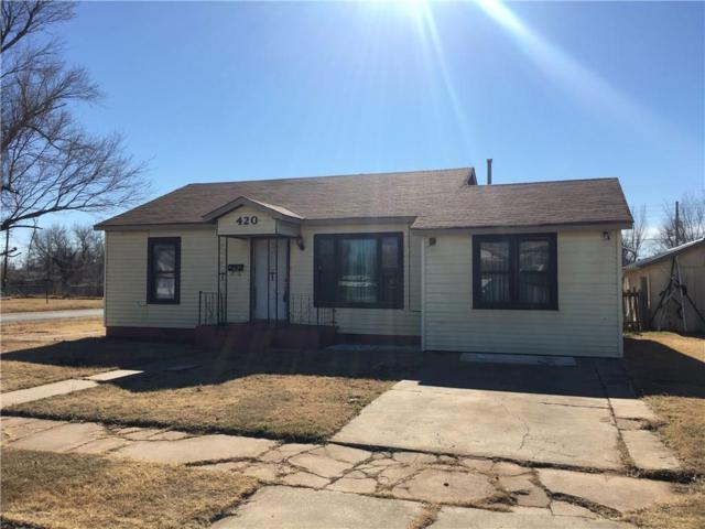 420 E Pecan, Altus, OK 73521 (MLS #800230) :: KING Real Estate Group
