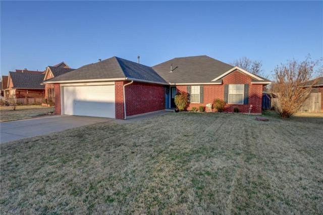 1008 Old Mill Road, Moore, OK 73160 (MLS #800742) :: Wyatt Poindexter Group