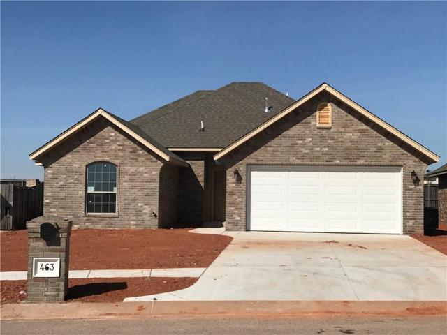 463 Tewkesbury Lane, Blanchard, OK 73010 (MLS #801984) :: Wyatt Poindexter Group