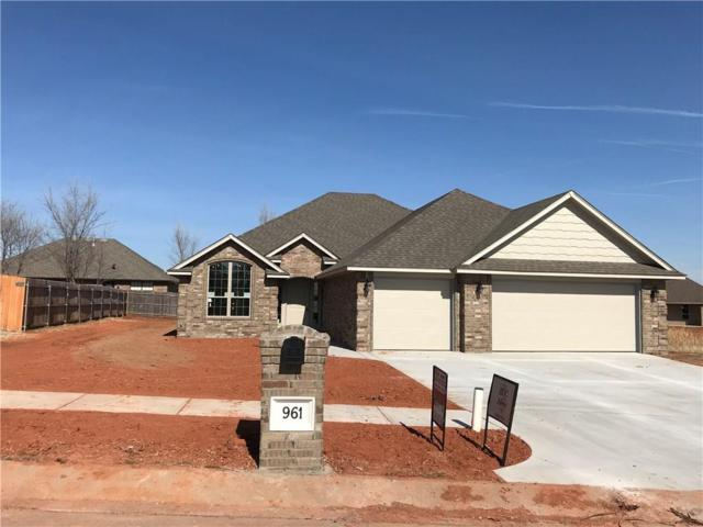 961 Fox Run Lane, Blanchard, OK 73010 (MLS #801987) :: Wyatt Poindexter Group