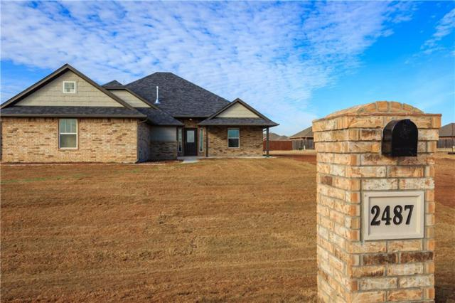 2487 Parker Ridge Lane, Piedmont, OK 73078 (MLS #802072) :: Wyatt Poindexter Group
