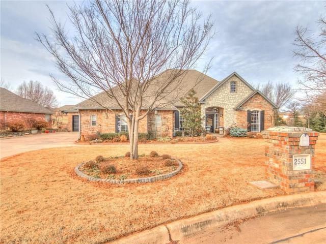 2551 Cross Cut Lane, Choctaw, OK 73020 (MLS #802453) :: Wyatt Poindexter Group