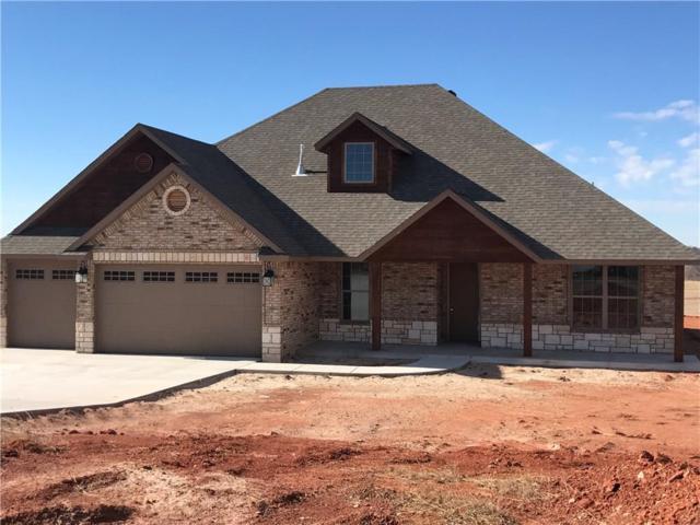 2665 Four Lakes Drive, Blanchard, OK 73010 (MLS #802625) :: Wyatt Poindexter Group