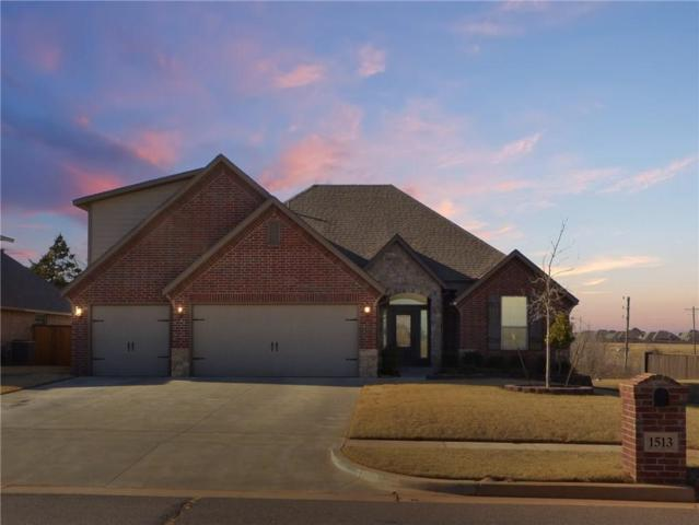1513 N Savannah Terrace, Mustang, OK 73064 (MLS #802942) :: Wyatt Poindexter Group