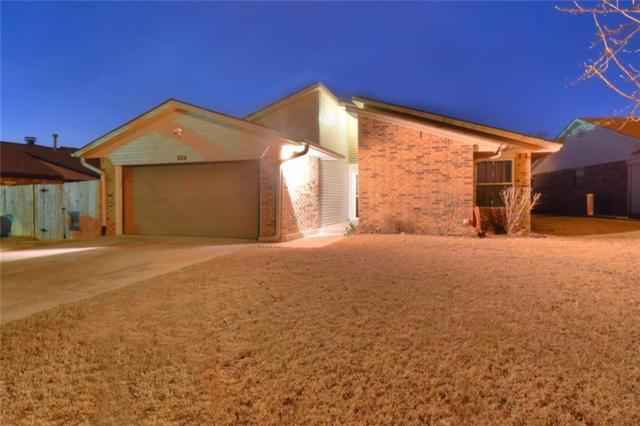 824 N Tiffany Court Way, Mustang, OK 73064 (MLS #804279) :: Wyatt Poindexter Group