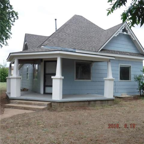 207 E 6th Street, Hydro, OK 73048 (MLS #804295) :: Homestead & Co