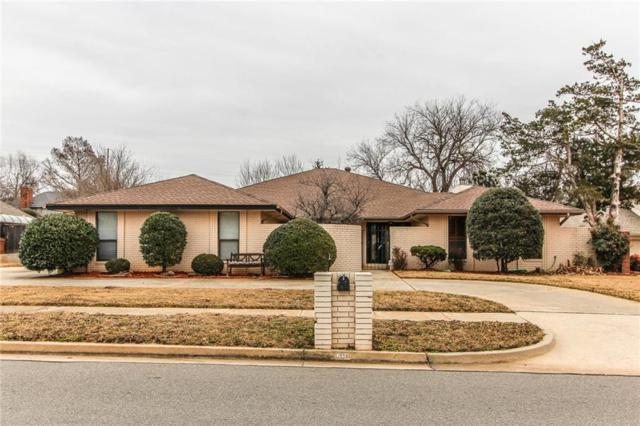 609 Shadow Grove Court, Norman, OK 73072 (MLS #804410) :: Wyatt Poindexter Group