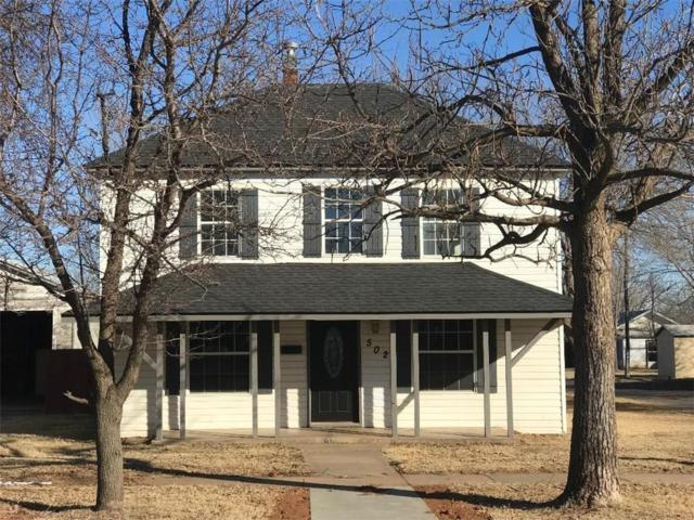 502 N Main, Elk City, OK 73644 (MLS #804480) :: Wyatt Poindexter Group