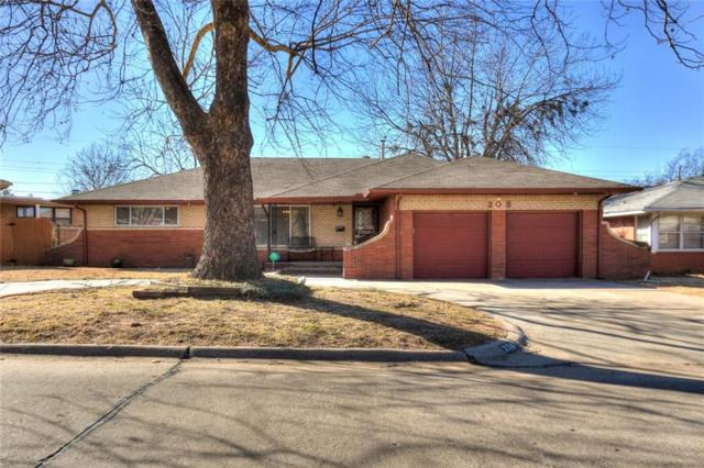 308 W Glenhaven Drive, Midwest City, OK 73110 (MLS #804531) :: Erhardt Group at Keller Williams Mulinix OKC