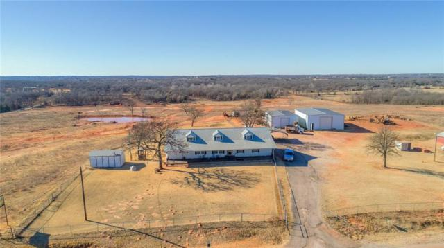 8433 N Pottawatomie Road, Harrah, OK 73045 (MLS #804786) :: UB Home Team