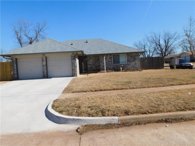 726 S Woodland Drive, Mustang, OK 73064 (MLS #805192) :: Wyatt Poindexter Group