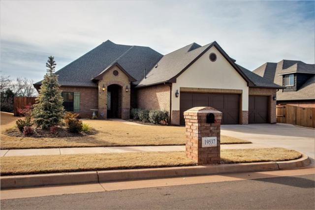 19537 Rambling Creek, Edmond, OK 73012 (MLS #805805) :: Wyatt Poindexter Group
