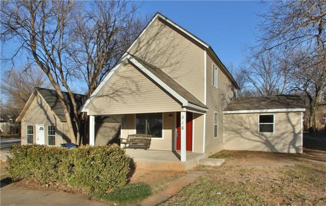 516 N Wentz, Guthrie, OK 73044 (MLS #806038) :: Wyatt Poindexter Group
