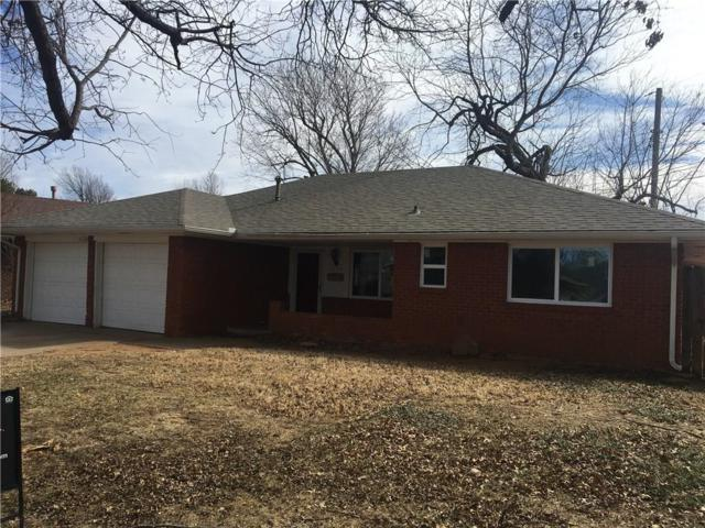 1224 Twilight Drive, Midwest City, OK 73110 (MLS #806325) :: Wyatt Poindexter Group