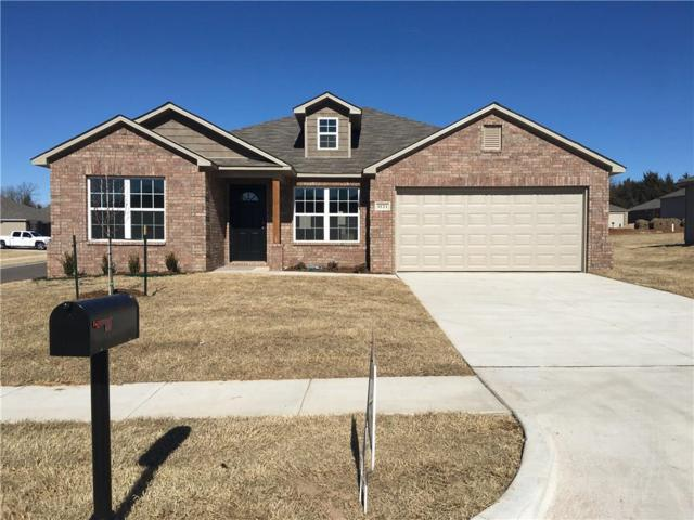 1121 Onyx Street, Noble, OK 73068 (MLS #806436) :: Wyatt Poindexter Group