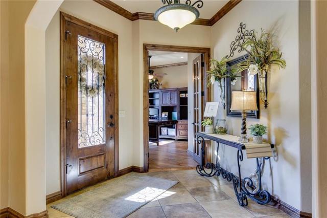 2417 Bull Run, Edmond, OK 73034 (MLS #806801) :: Barry Hurley Real Estate
