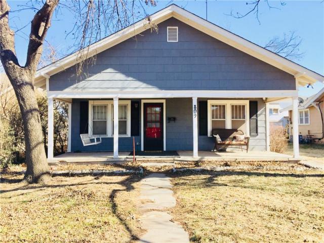 809 S Ellison, El Reno, OK 73036 (MLS #806832) :: Wyatt Poindexter Group