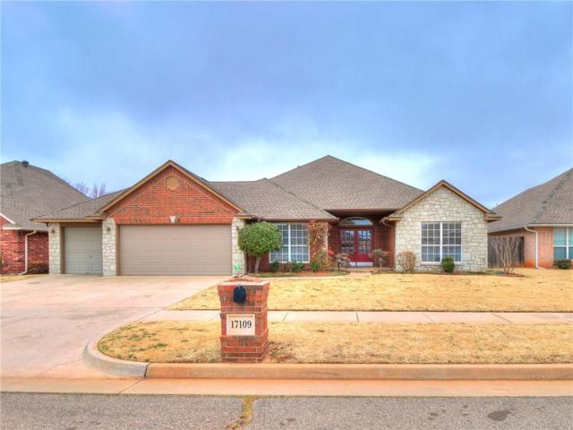 17109 Gladstone Lane, Edmond, OK 73012 (MLS #806976) :: Homestead & Co