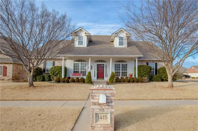 1415 SW 132nd, Oklahoma City, OK 73170 (MLS #807110) :: KING Real Estate Group