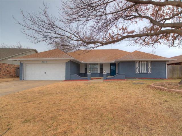 7420 NW 103RD Terrace, Oklahoma City, OK 73162 (MLS #807774) :: Wyatt Poindexter Group