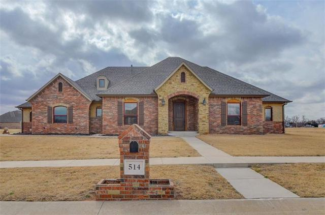 514 Cantebury Drive, Tuttle, OK 73089 (MLS #807984) :: Homestead & Co