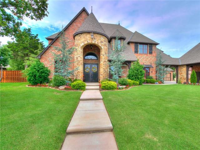 2309 Lone Oak Way, Edmond, OK 73034 (MLS #809255) :: Wyatt Poindexter Group