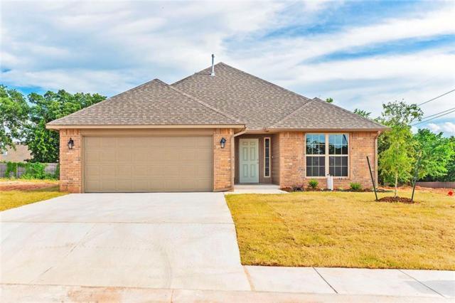 2208 Fallview Drive, Edmond, OK 73034 (MLS #809608) :: Wyatt Poindexter Group