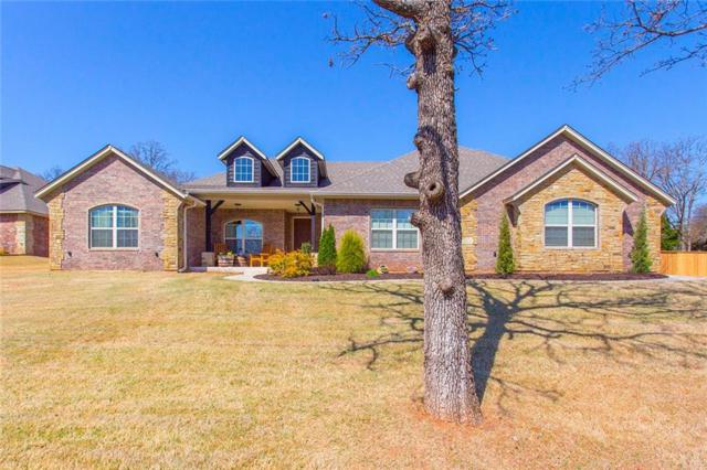 14345 Pleasant Wood Lane, Edmond, OK 73034 (MLS #810431) :: UB Home Team