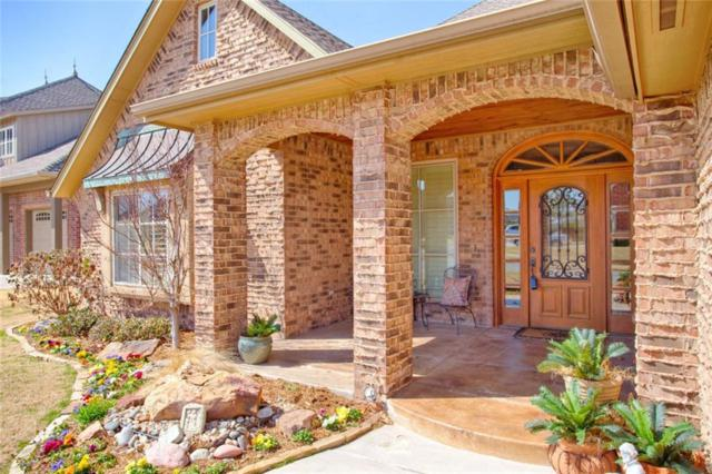 13101 Blue Canyon Circle, Oklahoma City, OK 73142 (MLS #811275) :: Homestead & Co