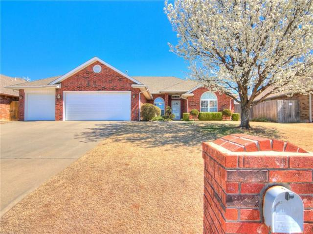 2108 Windsong Drive, Midwest City, OK 73130 (MLS #811381) :: UB Home Team