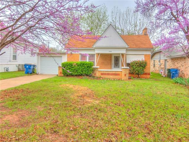 1026 S 18th, Chickasha, OK 73018 (MLS #812291) :: Erhardt Group at Keller Williams Mulinix OKC