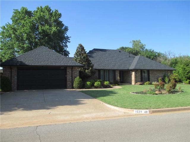 1521 Plains Avenue, Weatherford, OK 73096 (MLS #813608) :: Wyatt Poindexter Group