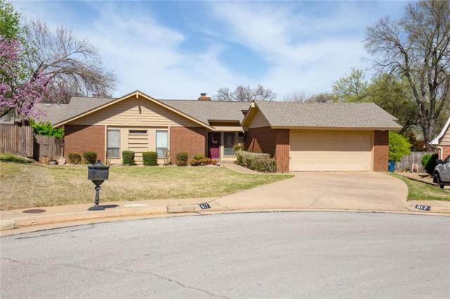 517 Canyon Road, Edmond, OK 73034 (MLS #814062) :: UB Home Team