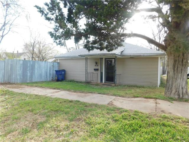 419 S Elm Street, Guthrie, OK 73044 (MLS #814075) :: UB Home Team