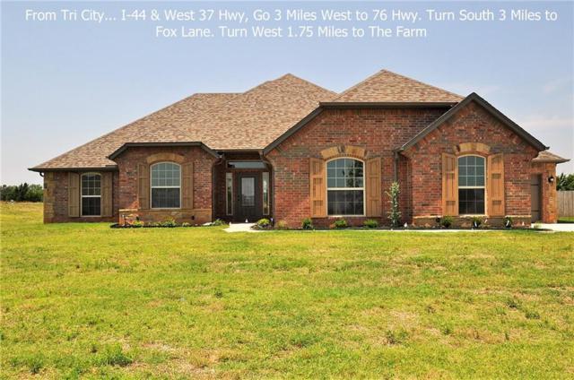 968 County Street 2982, Blanchard, OK 73010 (MLS #814699) :: Wyatt Poindexter Group