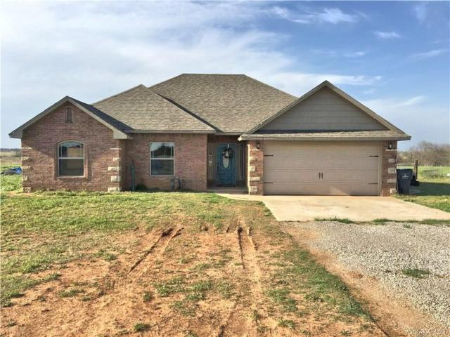 36830 Ray Road, Wanette, OK 74878 (MLS #816076) :: Wyatt Poindexter Group