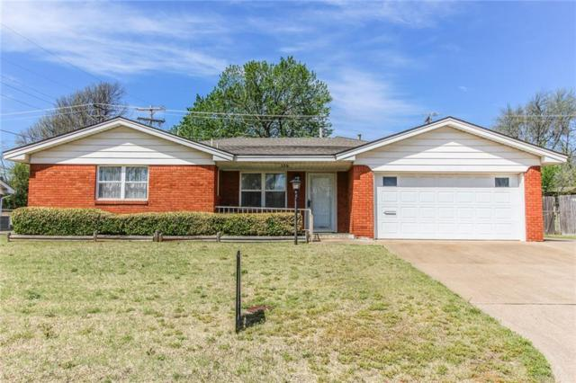 109 Country Club Terrace, Midwest City, OK 73110 (MLS #816509) :: Wyatt Poindexter Group