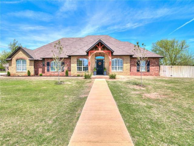 7351 Pleasant Valley Drive, Norman, OK 73072 (MLS #817121) :: Wyatt Poindexter Group