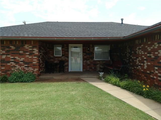 134 Florence, Cordell, OK 73632 (MLS #818186) :: Wyatt Poindexter Group