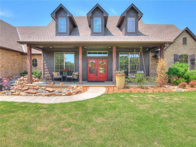 431 Hickory Hill, Choctaw, OK 73020 (MLS #818424) :: Wyatt Poindexter Group