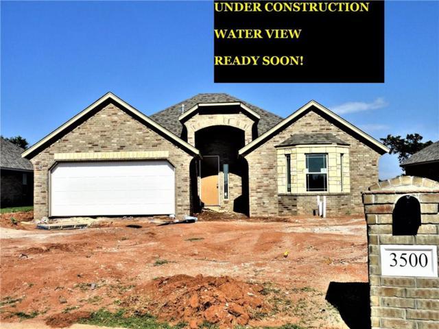 3500 Lakeside Drive, Moore, OK 73160 (MLS #818772) :: Wyatt Poindexter Group