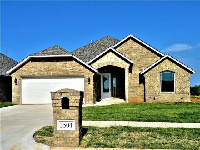 3504 Lakeside Drive, Moore, OK 73160 (MLS #818981) :: Wyatt Poindexter Group