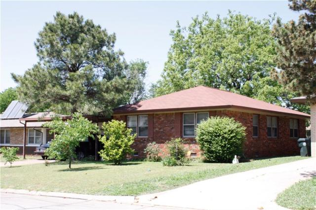 221 W Jarman Drive, Midwest City, OK 73110 (MLS #818986) :: Erhardt Group at Keller Williams Mulinix OKC