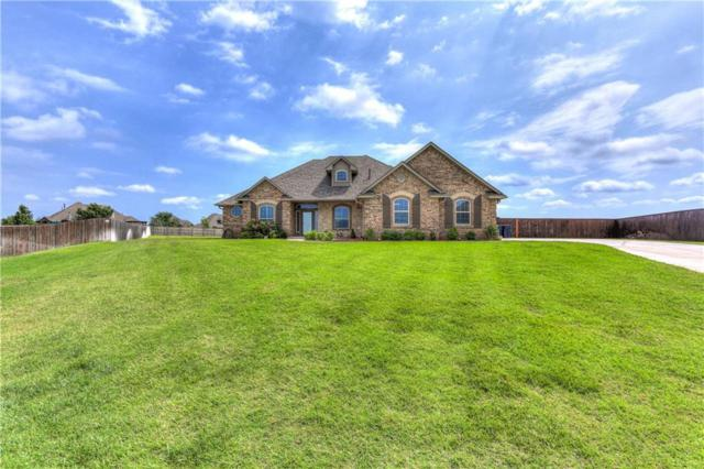 6615 SE 163rd Court, Oklahoma City, OK 73165 (MLS #820195) :: Erhardt Group at Keller Williams Mulinix OKC