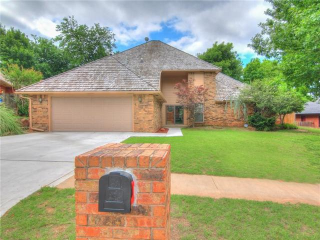 4708 Fountain Gate Drive, Norman, OK 73072 (MLS #820369) :: Wyatt Poindexter Group